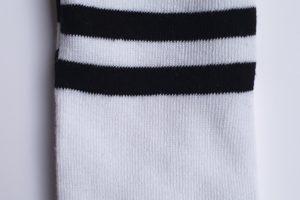 kniekousen wit zwart