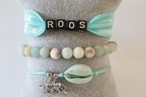 armbanden set turquoise