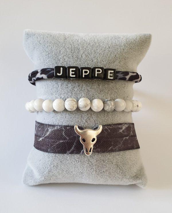 armbanden set marble