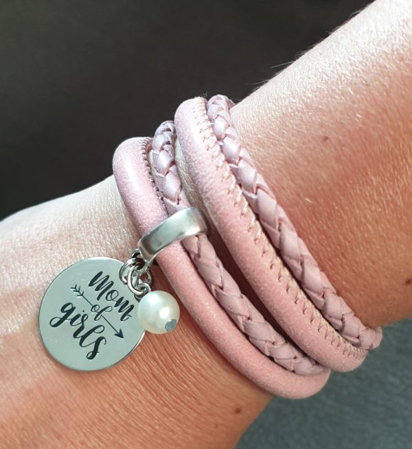 wikkelarmband mom of girls