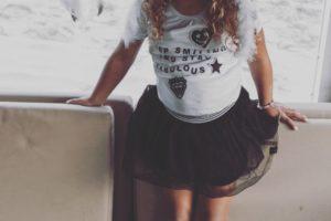 kniekousen wit/zwart