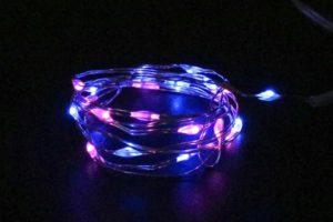 Ibiza hairlights roze/blauw