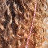 Ibiza Hairwrap fuchsia met clip