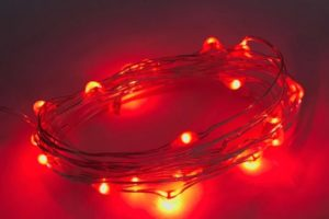 ibiza hairlights rood
