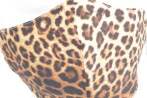 mondkapje luipaardprint