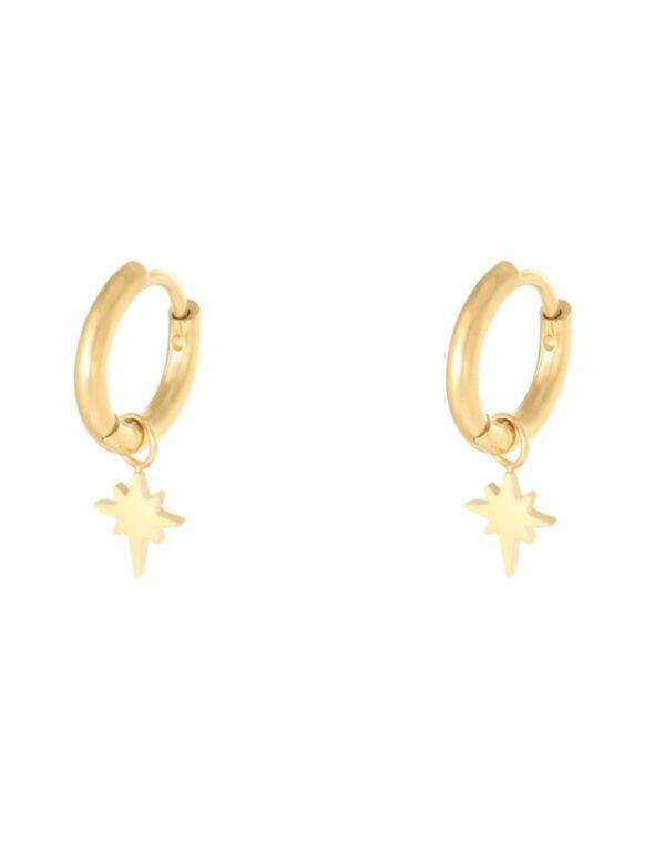 oorbellen sparkle goud