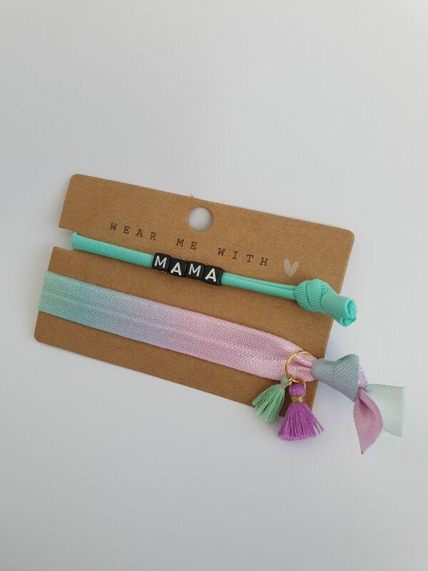 armbanden mama pastel