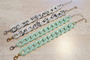 schakelarmband turquoise